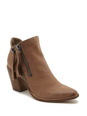 Wade Leather Ankle Boots by Dolce Vita