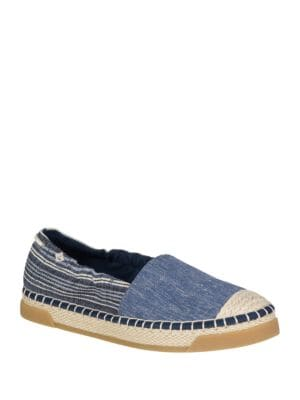 Laurel Reef Stripe Slip-On Espadrilles by Sperry