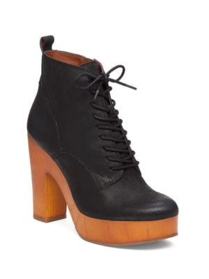 Buy Tafari Leather Ankle Boots by Lucky Brand online