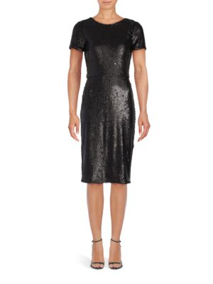 Betty Sequined Sheath Dress by BCBGMAXAZRIA