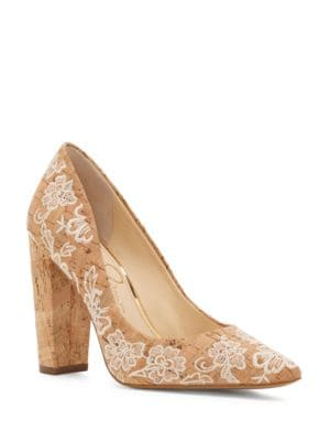 Tanysha Suede Point Toe Pumps by Jessica Simpson