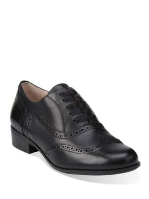 Hamble Oak Leather Brogue Shoes by Clarks