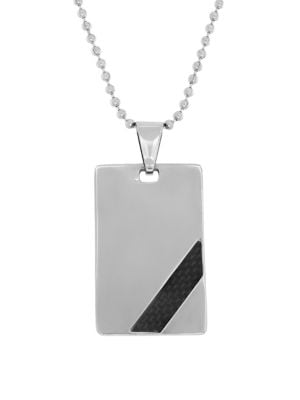 Dog Tag Pendant Necklace...
