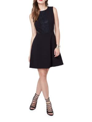 Sleeveless Crewneck Dress by RACHEL Rachel Roy