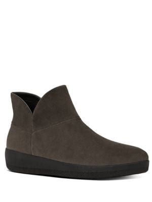 Supermod TM Suede Ankle Boots by FitFlop