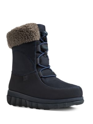 Buy Loaff TM Leather Lace-Up Ankle Winter Boots by FitFlop online