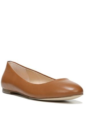 Vixen Leather Round Toe Flats by Dr. Scholl's