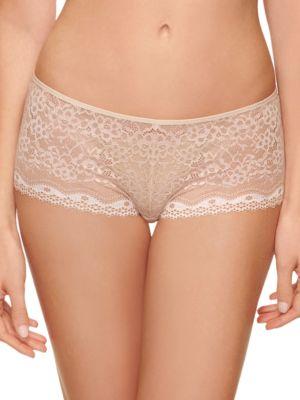 Lace Boy Shorts @...