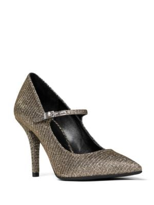 Claire Flex Glitter Mary Jane Pumps by MICHAEL MICHAEL KORS