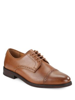 Morgfield Wing-Tip Leather Oxfords by Polo Ralph Lauren