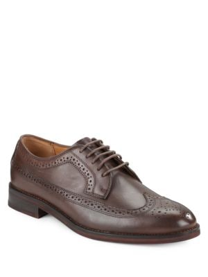 Moseley Perforated Leather Oxfords by Polo Ralph Lauren