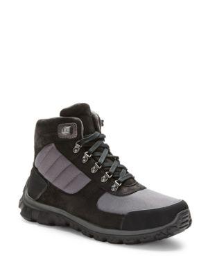 Herrik Suede-Trimmed Work Boots by Polo Ralph Lauren