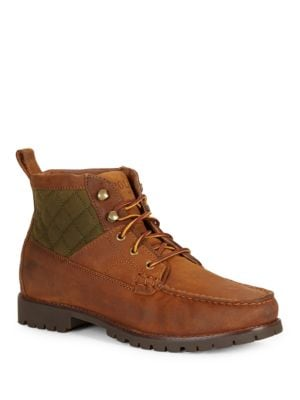 Rupert Leather Ankle Boots by Polo Ralph Lauren