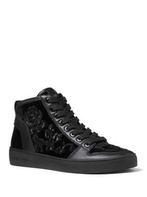 Willow High-Top Lace-Up Sneakers by MICHAEL MICHAEL KORS