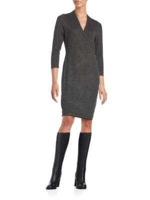 Solid Sheath Dress by Calvin Klein