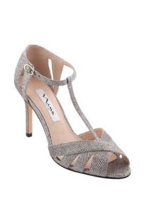 Ricarda T -Strap Evening Pumps by Nina