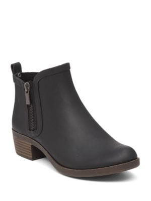 Side Zip Up Booties by Lucky Brand