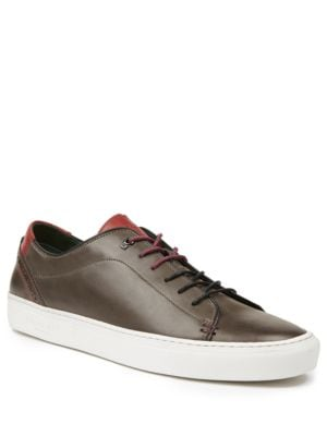 King Leather Cupsole Trainer Sneakers by Ted Baker London