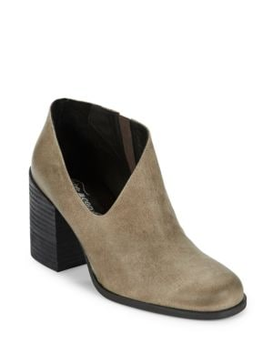Terrah Leather Ankle Booties by Free People