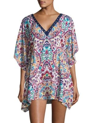 Folk Cover-Up Tunic by Nanette Lepore