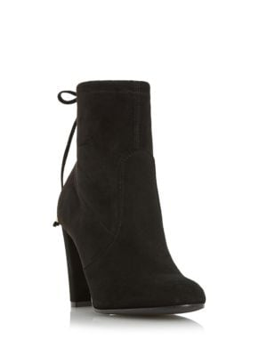 Orchid Suede Ankle Boots by Dune London