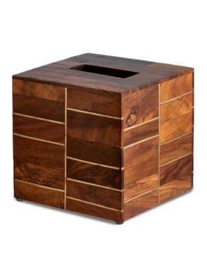 Melrose Rosewood Tissue Box Holder 500048863443