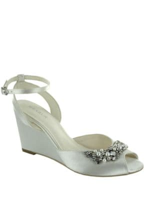Esther Rhinestone Embellished Wedges by Menbur