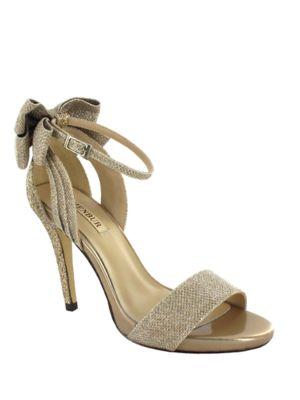 Buy Celosia Ankle Strap Glitter Sandals by Menbur online
