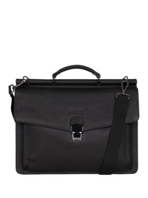 Pebbled Leather Briefcase Bag by Kenneth Cole REACTION