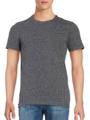 Heathered Jersey Knit Tee by Selected Homme