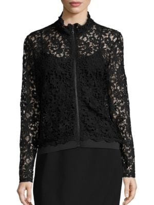 Lace Track Jacket by Marina