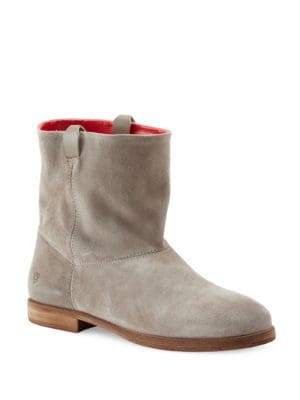 Buy Round Toe Suede Ankle Boots by Liebeskind Berlin online