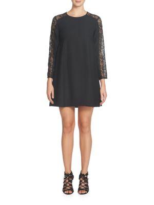 Asha Lace Sleeve Shift Dress by Cece