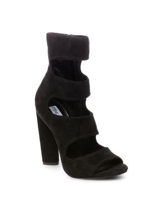 Tawnie Peep Toe Dress Boots by Steve Madden