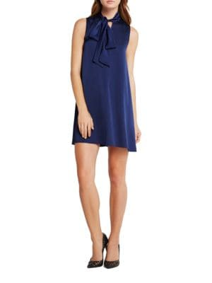 Tie-Accented Shift Dress by BCBGeneration