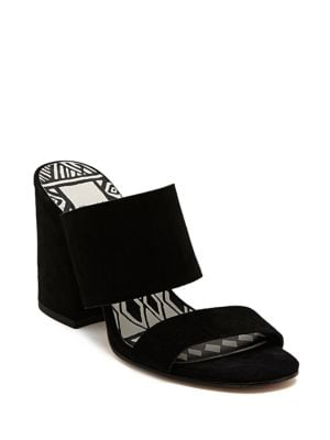 Elize Leather Block Heel Sandals by Dolce Vita