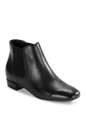 Buy Ivonne Leather Ankle Boots by Karl Lagerfeld Paris online