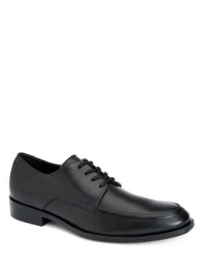 Draven Brushed Leather Dress Shoes by Calvin Klein
