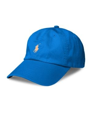 Contrast-Logo Cotton Hat by Polo Ralph Lauren