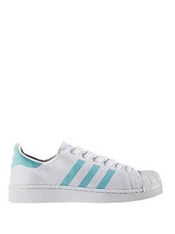 Adidas Superstar 80s DLX (Vintage White & Navy) End