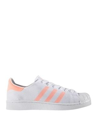 Women's Superstar Lace-Up Perforated Sneakers by Adidas