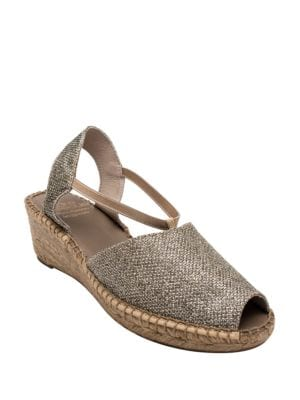 Dainty Slingback Wedge Sandals by Andre Assous