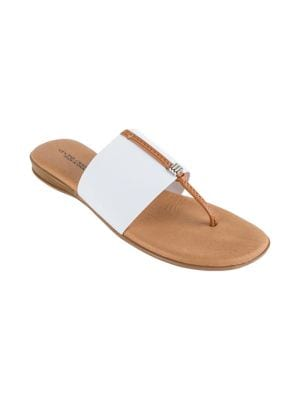 Nice 2 Thong Sandals by Andre Assous