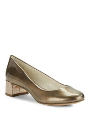 Hallie Metallic Pumps by Anne Klein