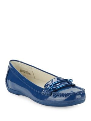 Noris Patent Leather Loafers by Anne Klein