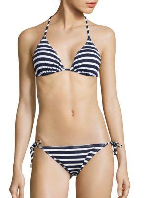 Brenton Striped Bikini Bra by Tommy Bahama