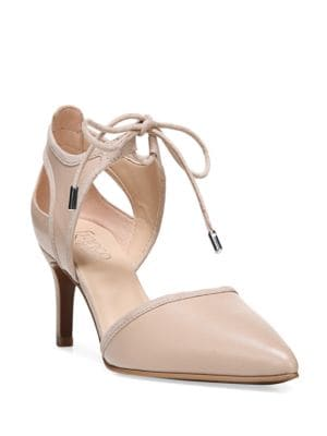 Darlis Leather Point-Toe Pumps by Franco Sarto