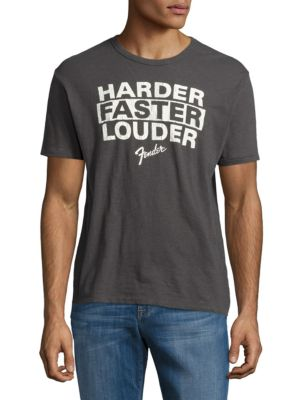 Fender Louder Crewneck T-Shirt by Lucky Brand