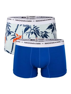 Zen and Moonlight Printed Boxer Briefs- Set of 2 by Mosmann Australia