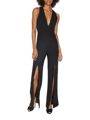 Deep V-Neck Jumpsuit 500049358260